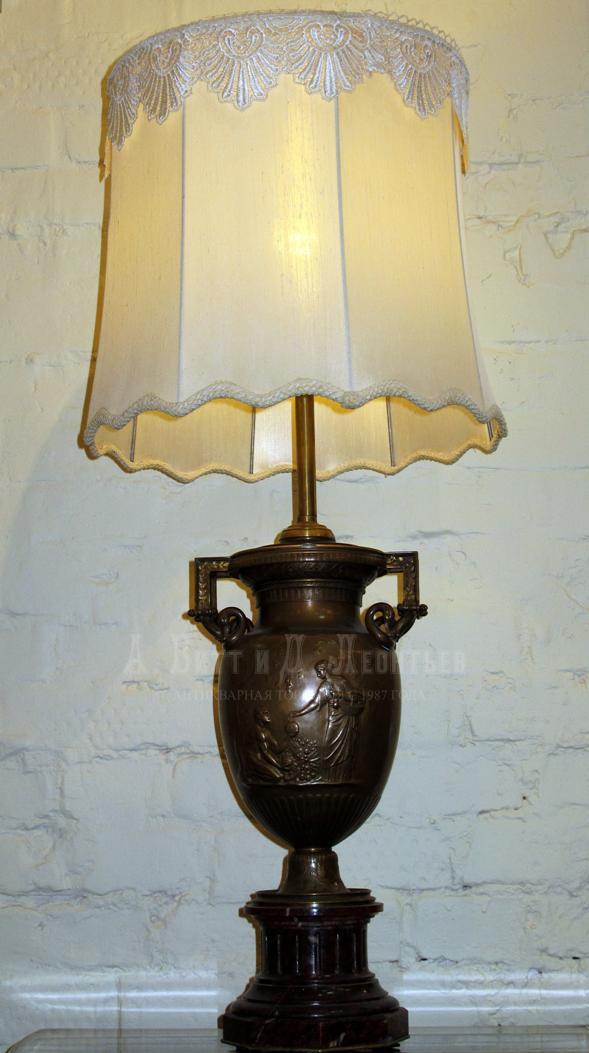 Классические настольные лампы цены купить светильник в стиле
